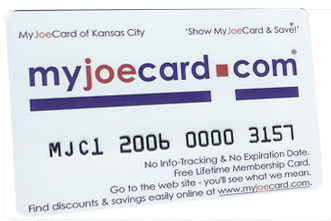 The New MyJoeCard for Austin - Best Consumer Value in the Austin area!
